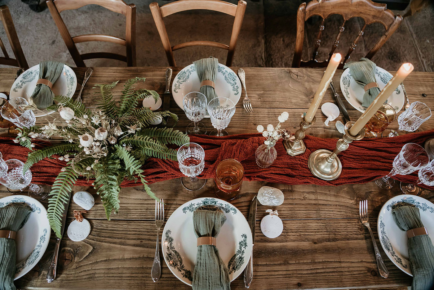 inspiration mariage table décoration